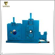 Sistema para rolhas de escória <small>(Sistema de entrada deslizante para controle de escória)</small>