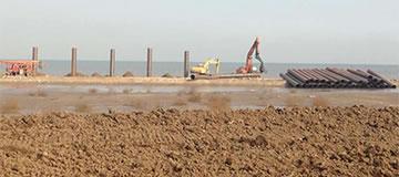 Engenharia de offshore para empilhamento de tubos