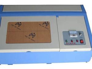 Máquina de gravação a laser para selos tipo de mesa